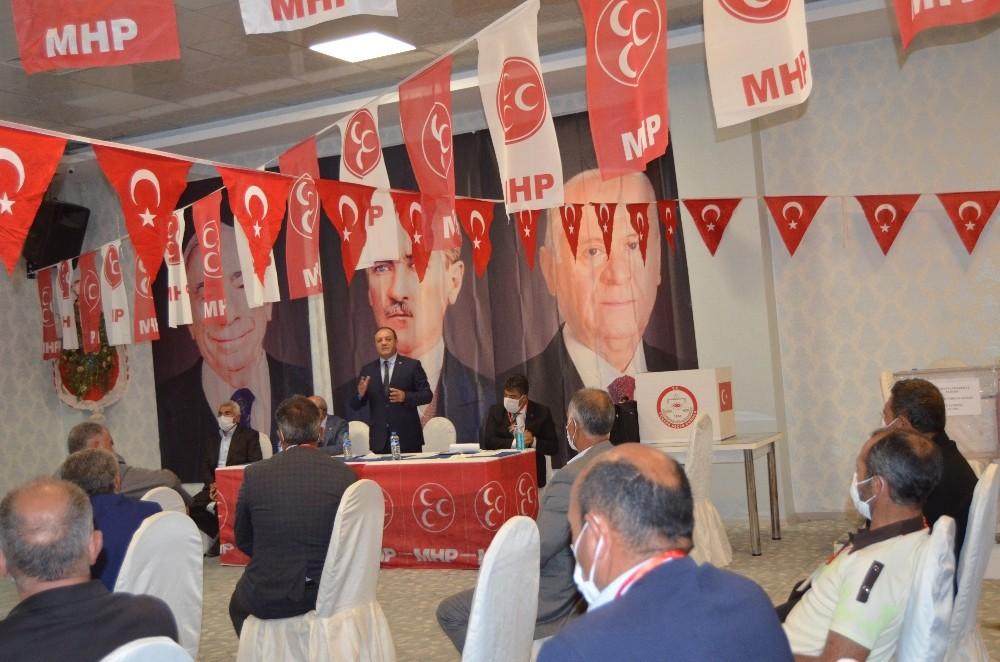 MHP Horasan ve Köprüköy ilçe kongreleri yapıldı
