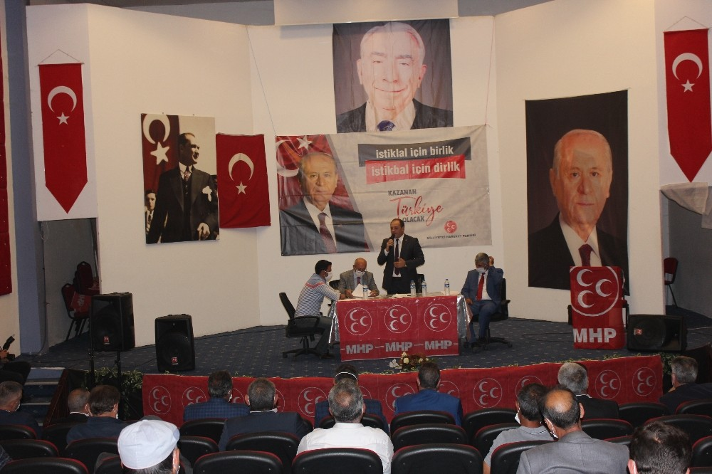 MHP ilçe kongrelerine Narman ile devam etti