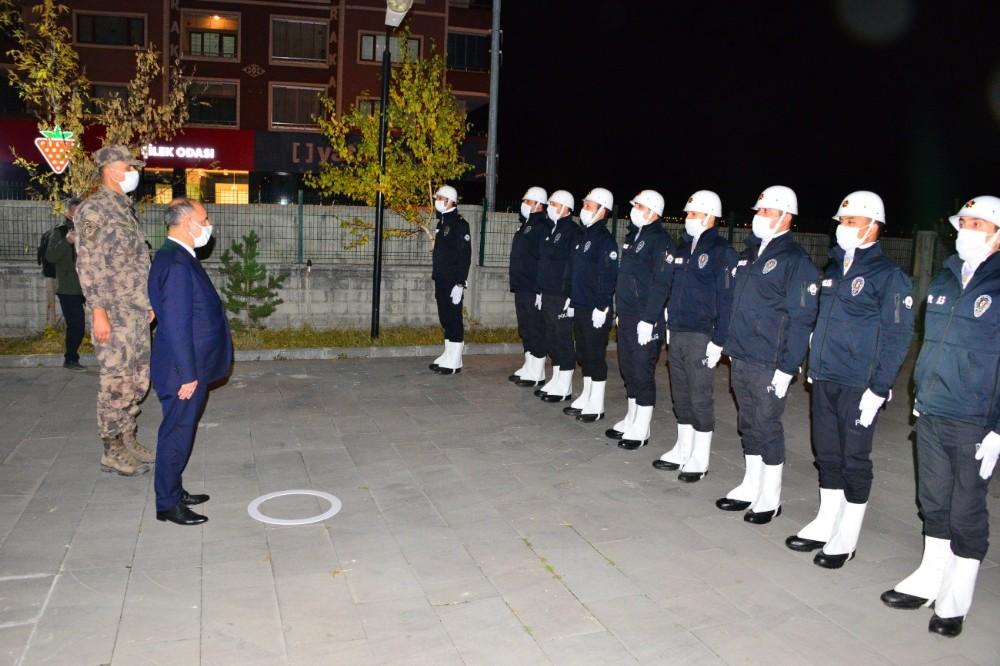 Emniyet Genel Müdürü Mehmet Aktaş, Ardahan'ı ziyaret etti