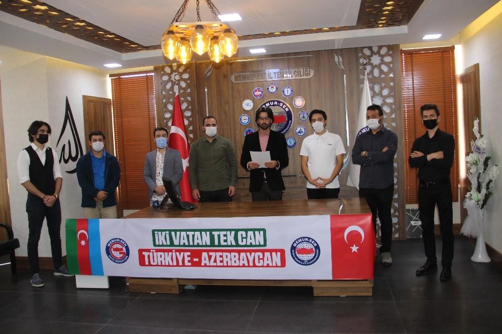 Genç Memur Sen'den dost ve kardeş ülke Azerbaycan'a destek açıklaması