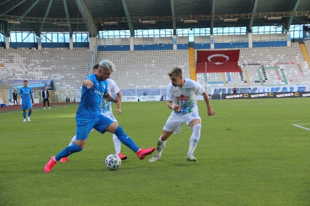 Süper Lig: BB Erzurumspor: 0 – Çaykur Rizespor: 0 (İlk yarı)