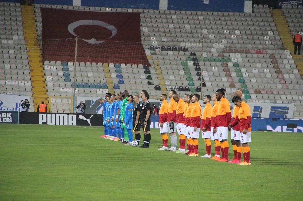 Süper Lig: BB Erzurumspor: 1 – Galatasaray: 1 (İlk yarı)