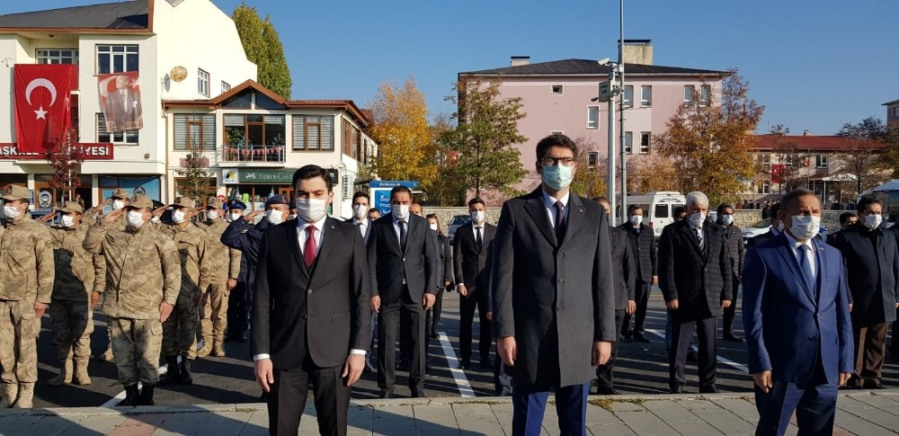 Aşkale'de 10 Kasım Atatürk'ü anma töreni
