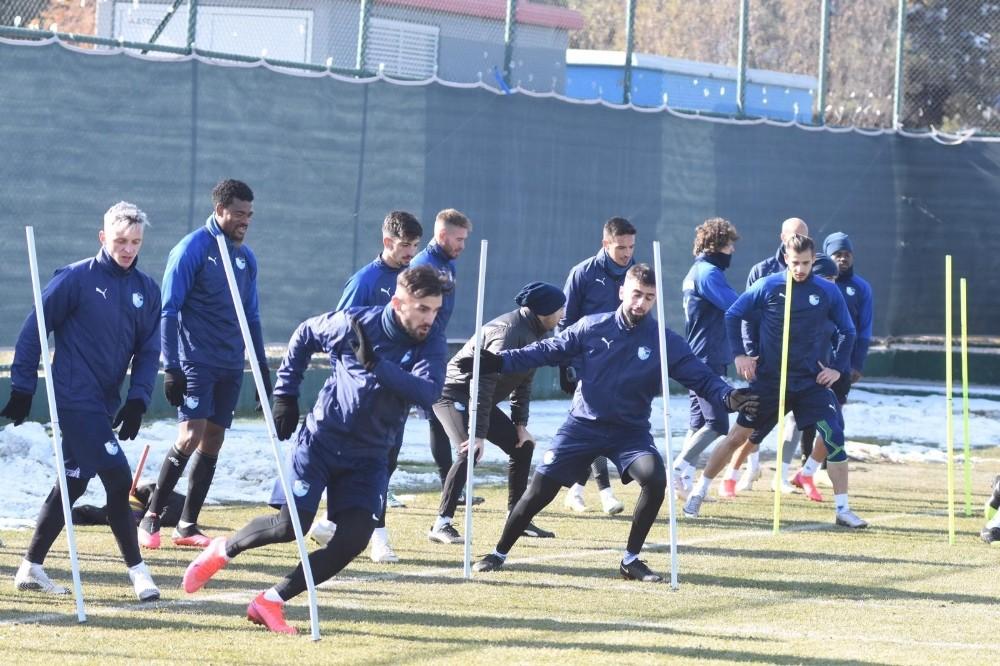 BB Erzurumspor, Antalyaspor maçı hazırlıklarını tamamladı