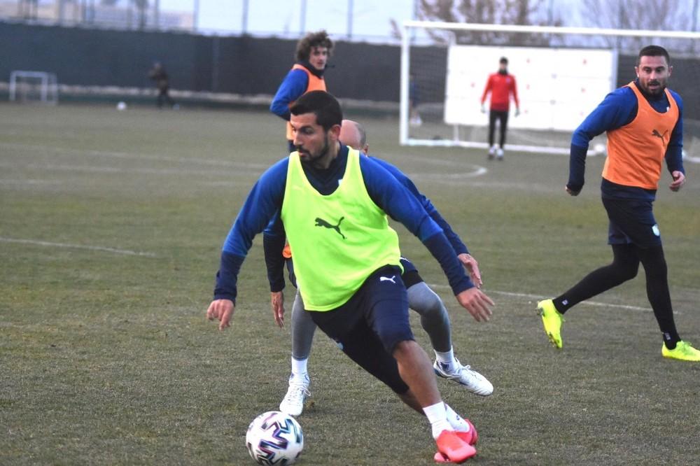 BB Erzurumspor Trabzonspor hazırlıklarını sürdürdü