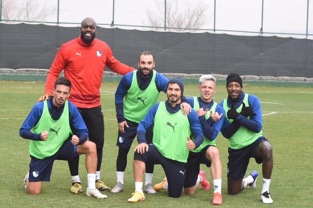 BB Erzurumspor'da Göztepe maçı hazırlıkları sürüyor