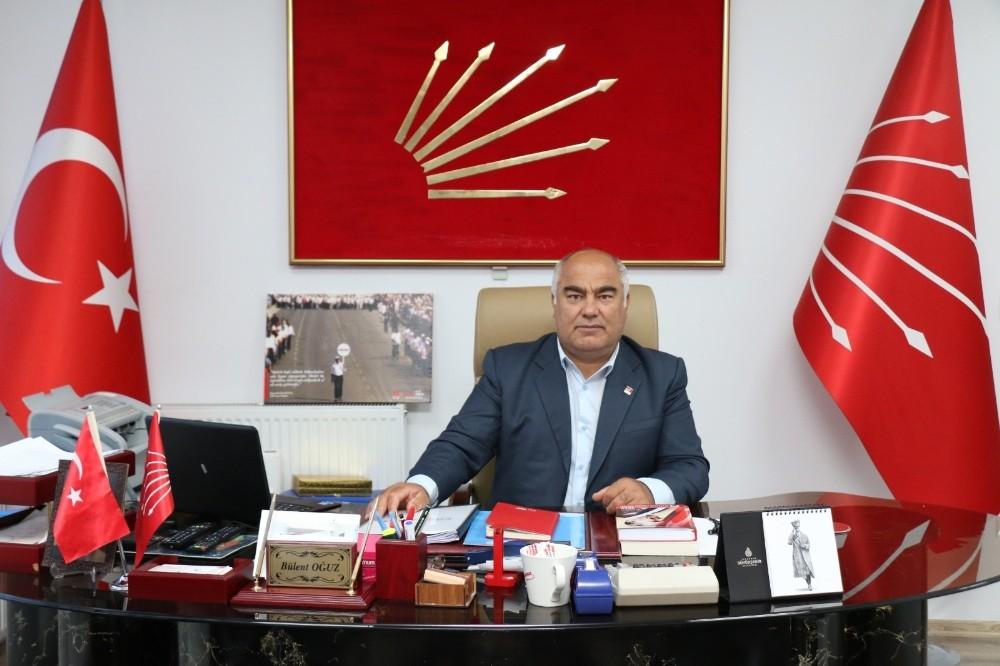 CHP İl Başkanı Oğuz, esnaf ve çiftçinin sorunlarını dinliyor