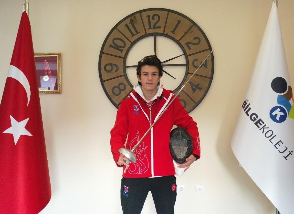 Eskrim Türkiye şampiyonu Erzurum'dan