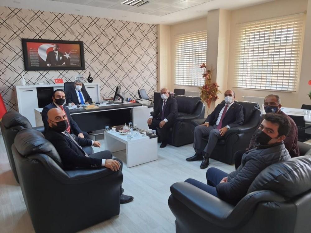 Palandöken Refah'tan İlçe Milli Eğitim Müdürlüğü'ne ziyaret