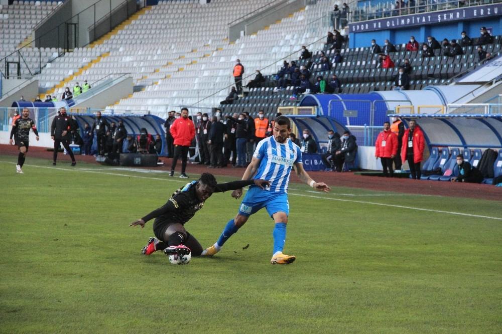 Süper Lig: BB Erzurumspor: 0 – Göztepe: 1 (İlk yarı)
