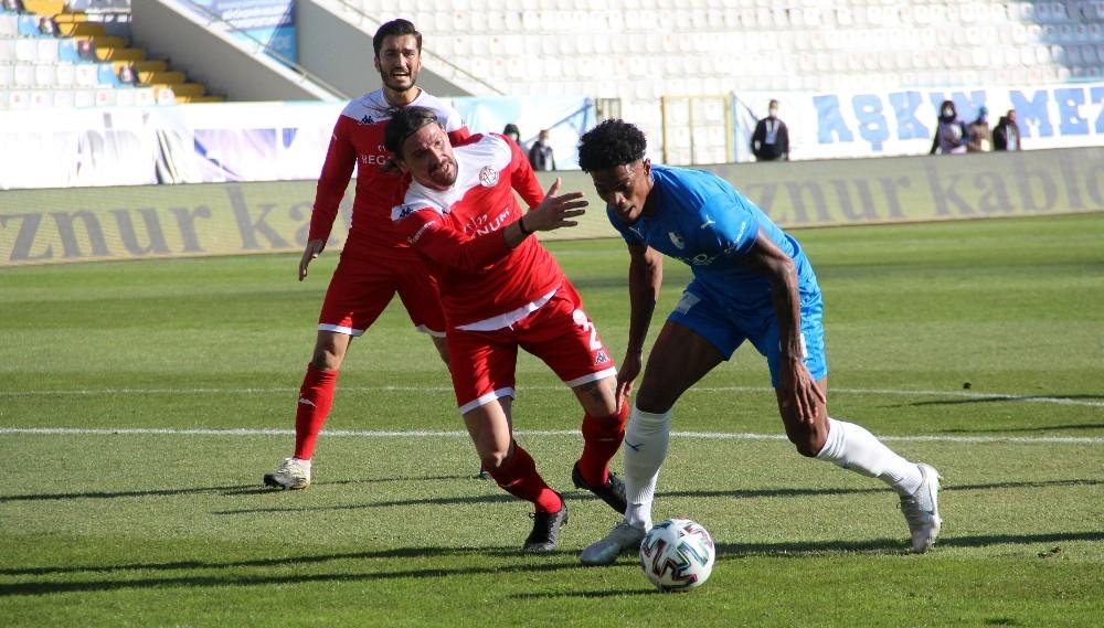 Süper Lig: BB Erzurumspor: 1 – FT Antalyaspor: 0 (İlk yarı)