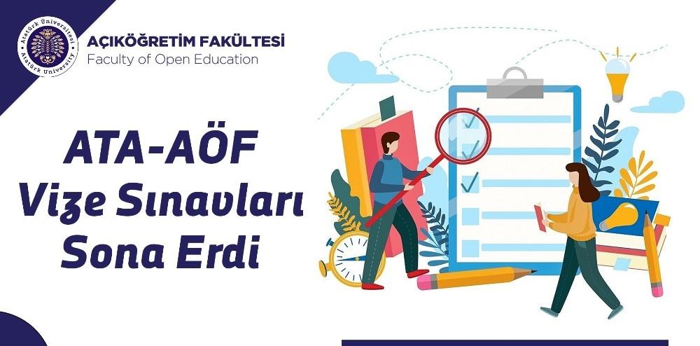 Açıköğretim Fakültesi vize sınavları sona erdi