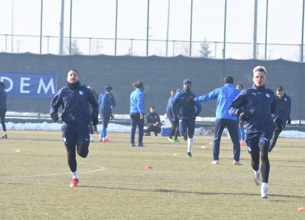 BB Erzurumspor, Gaziantep maç hazırlıklarını sürdürdü