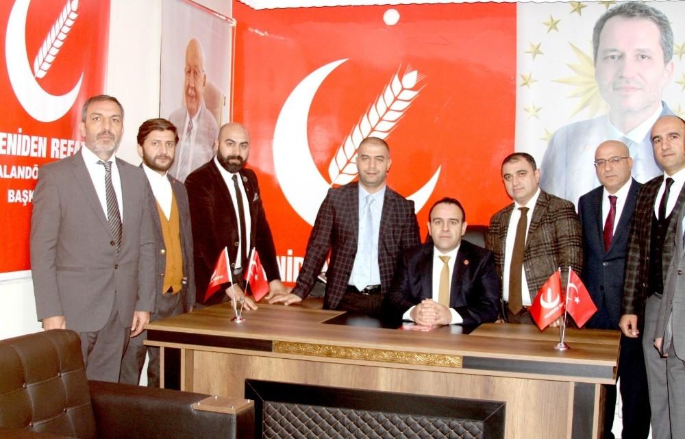Fatih Erbakan'dan Palandöken Refah'a teşekkür