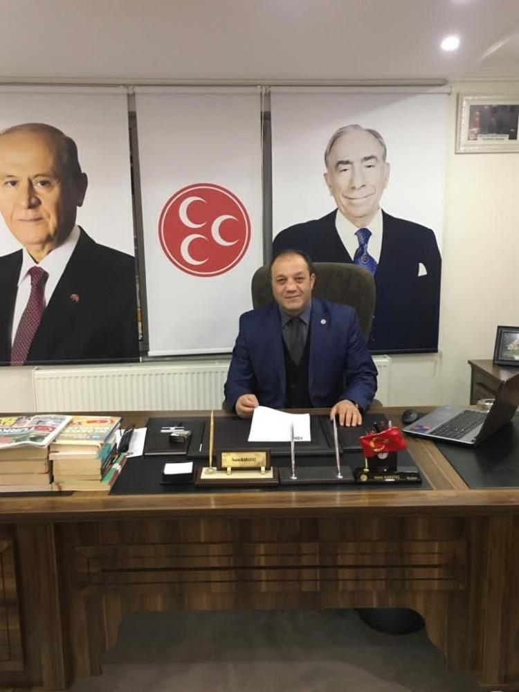 MHP Erzurum İl Başkanı Karataş'tan 3 Aralık Dünya Engelliler Günü mesajı