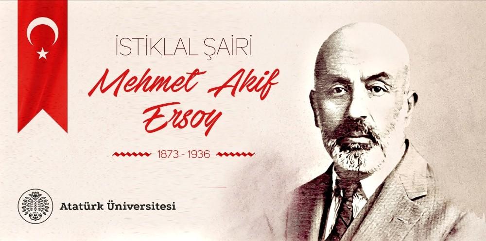 Rektör Çomaklı'nın İstiklal Şairi Mehmet Akif Ersoy'u Anma Mesajı