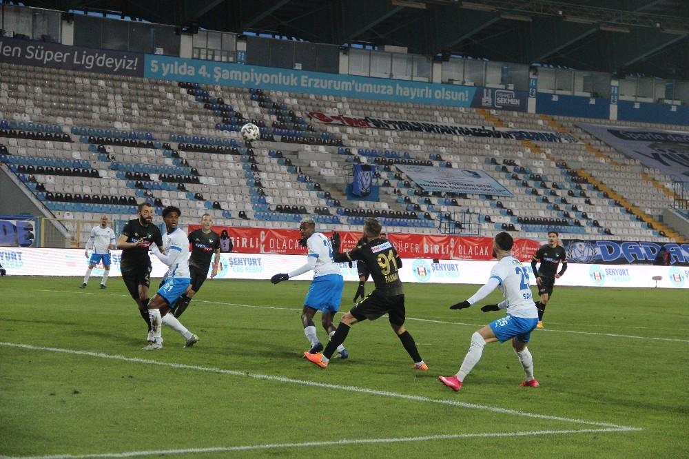 Süper Lig: BB Erzurumspor: 1 – Y. Denizlispor: 2 (Maç sonucu)