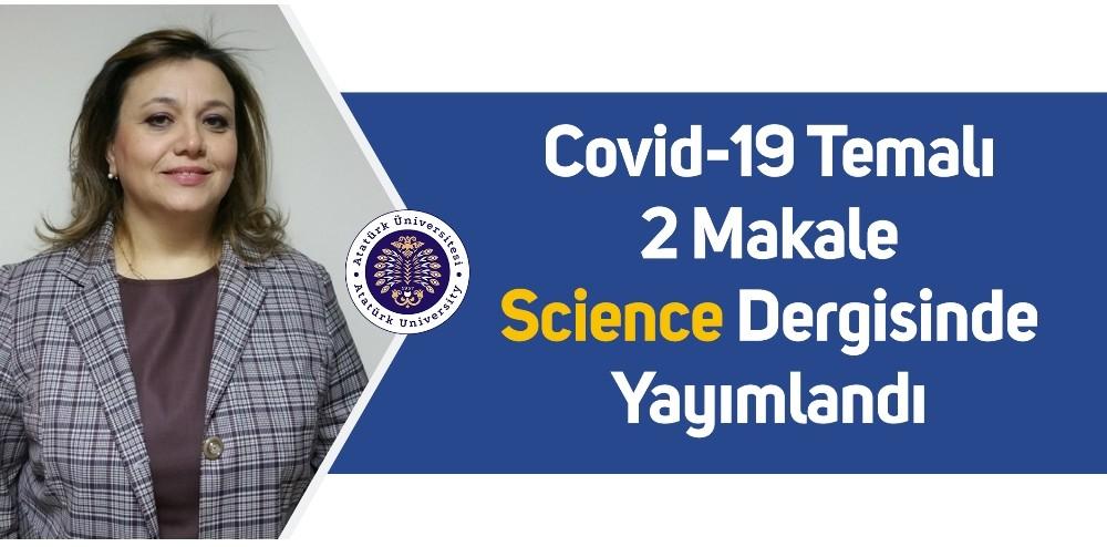 Covid-19 Temalı 2 Makale Science Dergisinde yayımlandı