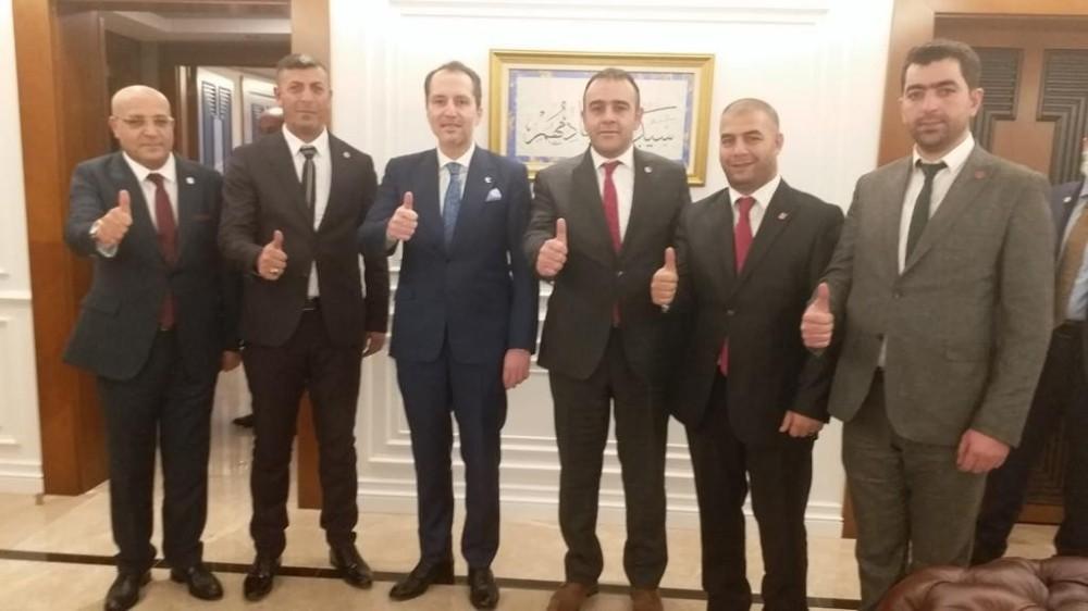 Fatih Erbakan Palandöken teşkilatını konuk etti