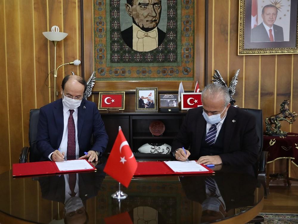 Laboratuvarların ortak kullanımına yönelik iş birliği anlaşması imzalandı