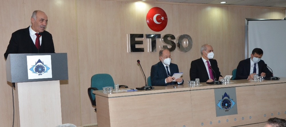 Numan Kurtulmuş ETSO Meclisi'nde konuştu;