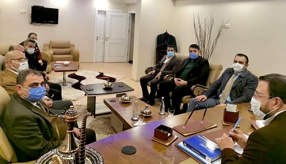 Palandöken Refah'tan Palandöken AK Parti'ye ziyaret
