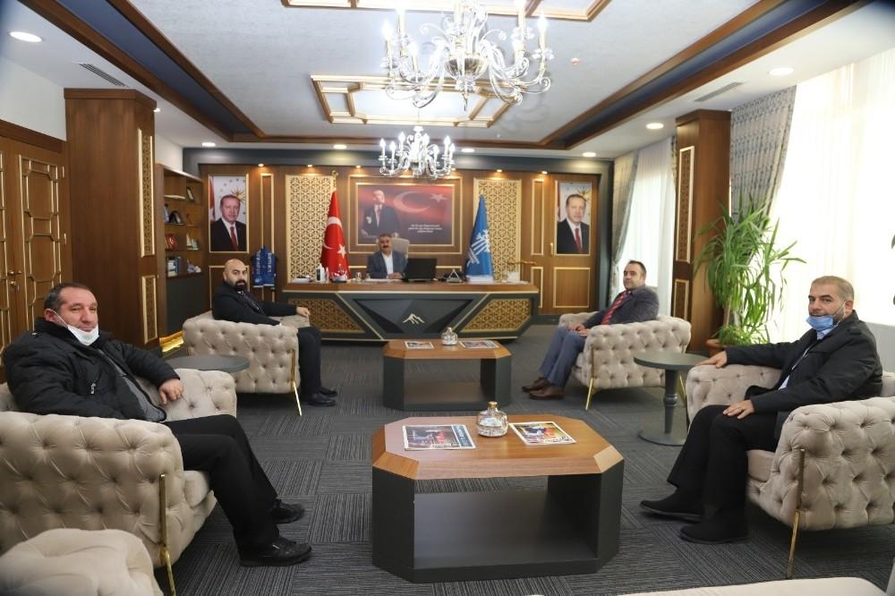 Palandöken Refah'tan Palandöken Belediyesi'ne ziyaret