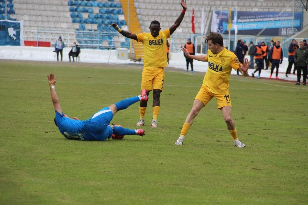 Süper Lig: BB Erzurumspor: 0 – MKE Ankaragücü: 0 (İlk yarı)