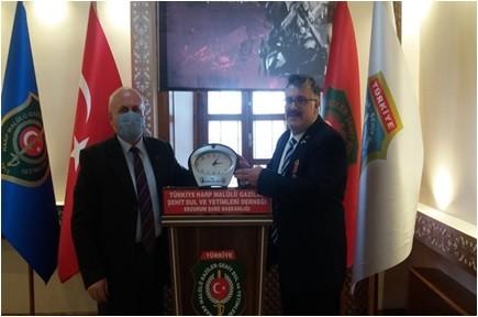 TSK Mehmetçik Vakfı pandemi döneminde ziyaretlerini sürdürüyor