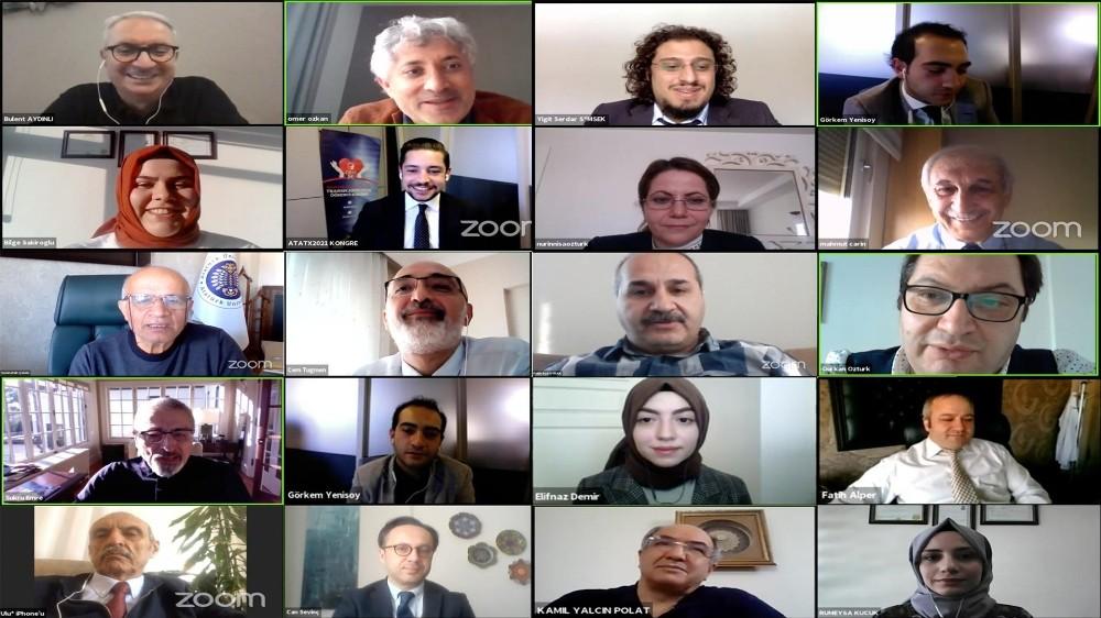 Türkiye'nin ilk online öğrenci kongresi ATATX2021 sona erdi