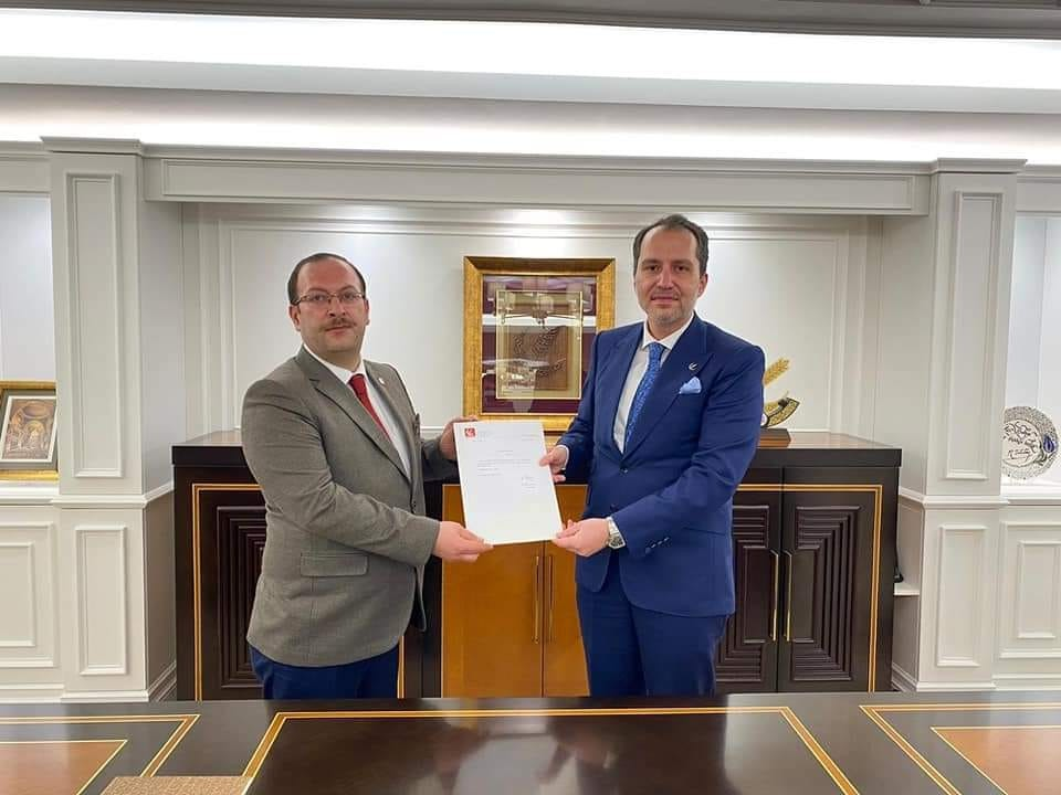 Yeniden Refah Partisi Erzurum il başkanı değişti