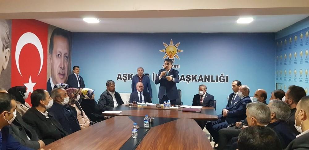 Ak Parti Milletvekili İbrahim Aydemir Aşkale'de