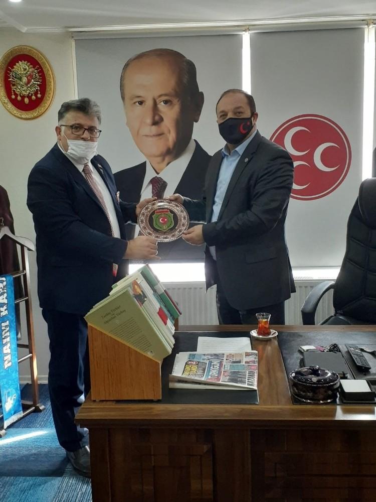 Akgül'den Karataş'a ziyaret