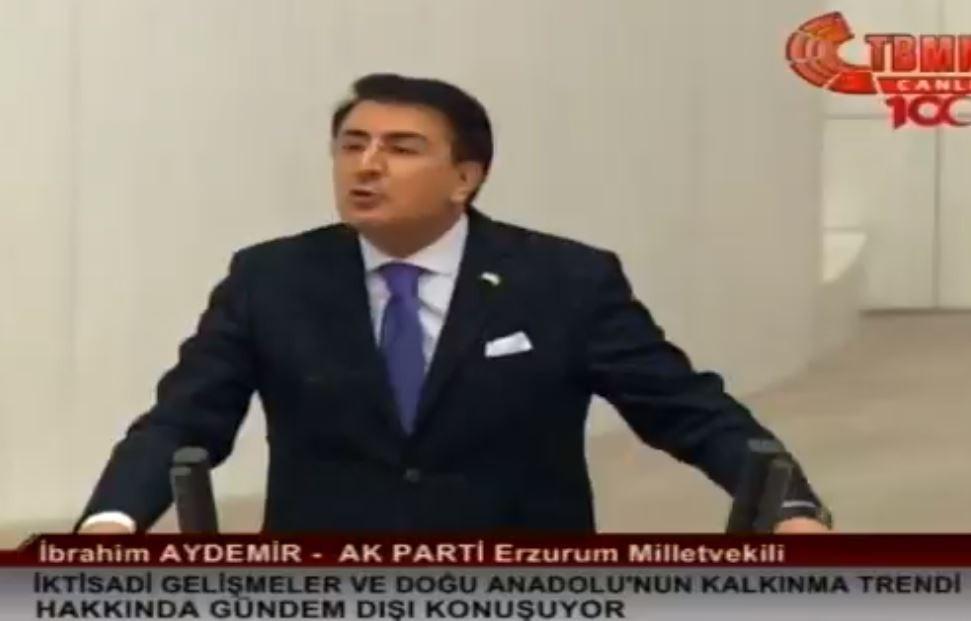"""Milletvekili Aydemir: """"'Doğunun makus talihi' sözünü yatırımlarla sildik"""""""