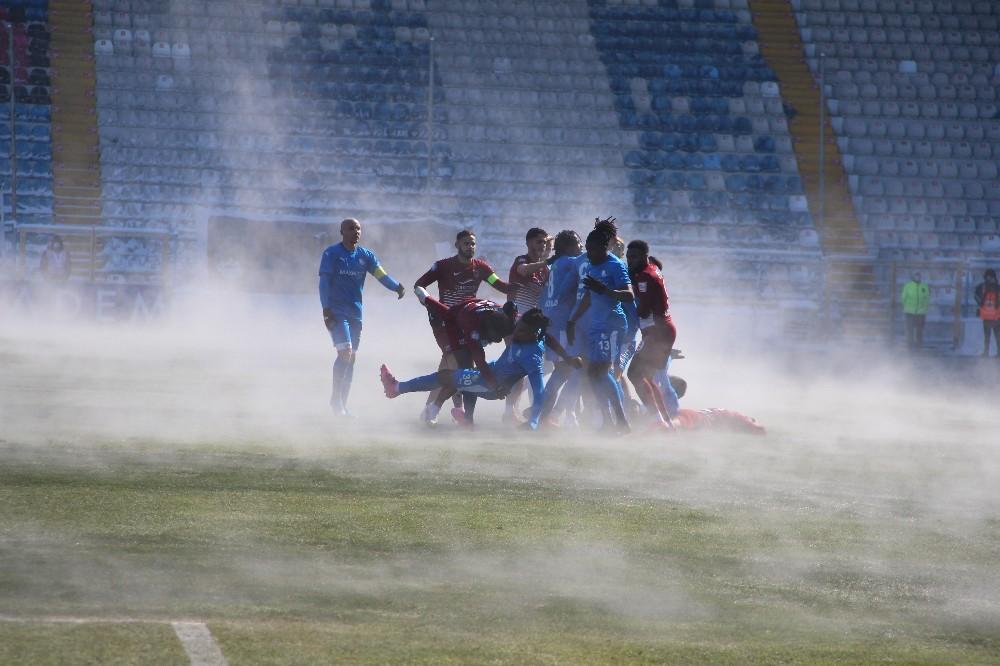 Süper Lig: BB Erzurumspor: 0 – A. Hatayspor: 2 (İlk yarı)