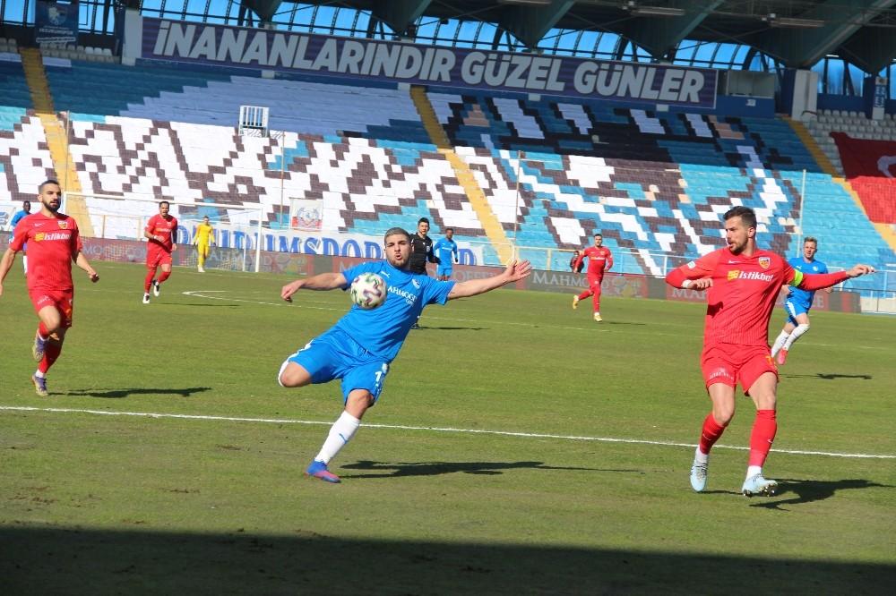 Süper Lig: BB Erzurumspor: 1 – Hes Kablo Kayserispor: 0 (İlk yarı)