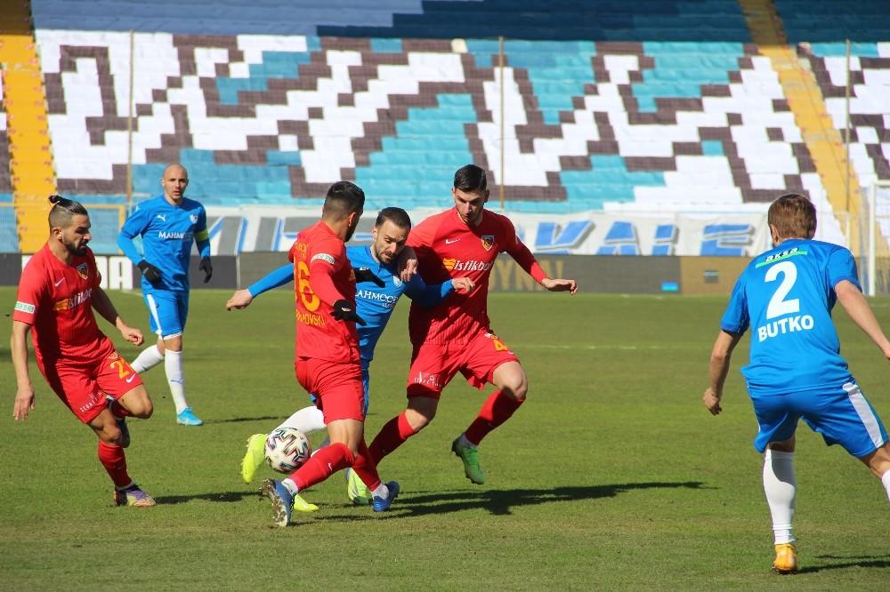 Süper Lig: BB Erzurumspor: 1 – Hes Kablo Kayserispor: 1 (Maç sonucu)