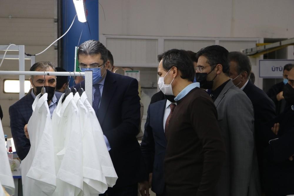 Tekstilkent salgın döneminde istihdam sağlamaya devam ediyor