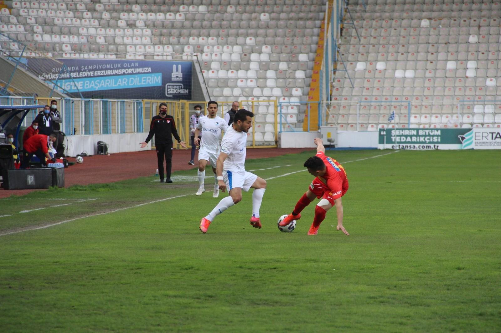 Süper Lig: BB Erzurumspor: 1 – Yeni Malatyaspor: 0 (Maç sonucu)