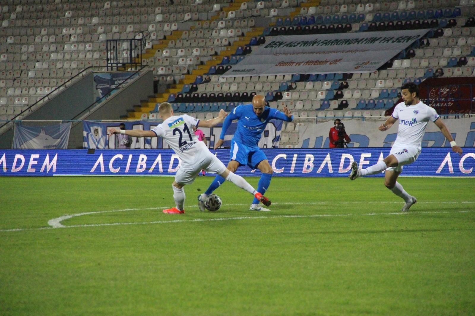 Süper Lig: BB Erzurumspor: 0 – Kasımpaşa: 0 (İlk yarı)