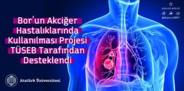 Bor'un akciğer hastalıklarında kullanılması projesi TÜSEB tarafından desteklendi
