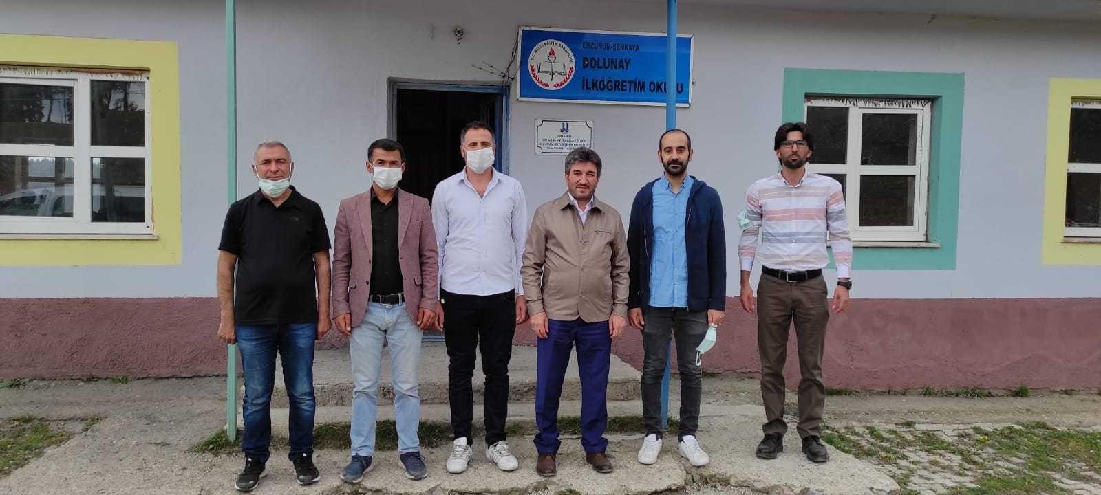 Erzurum Eğitim-Bir-Sen'den eğitim öğretime destek