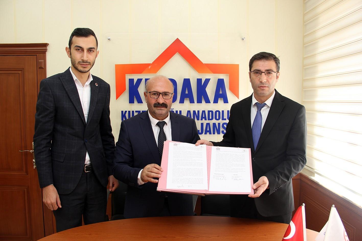 Horasan'da süt ürünleri sektörü KUDAKA ile büyüyor