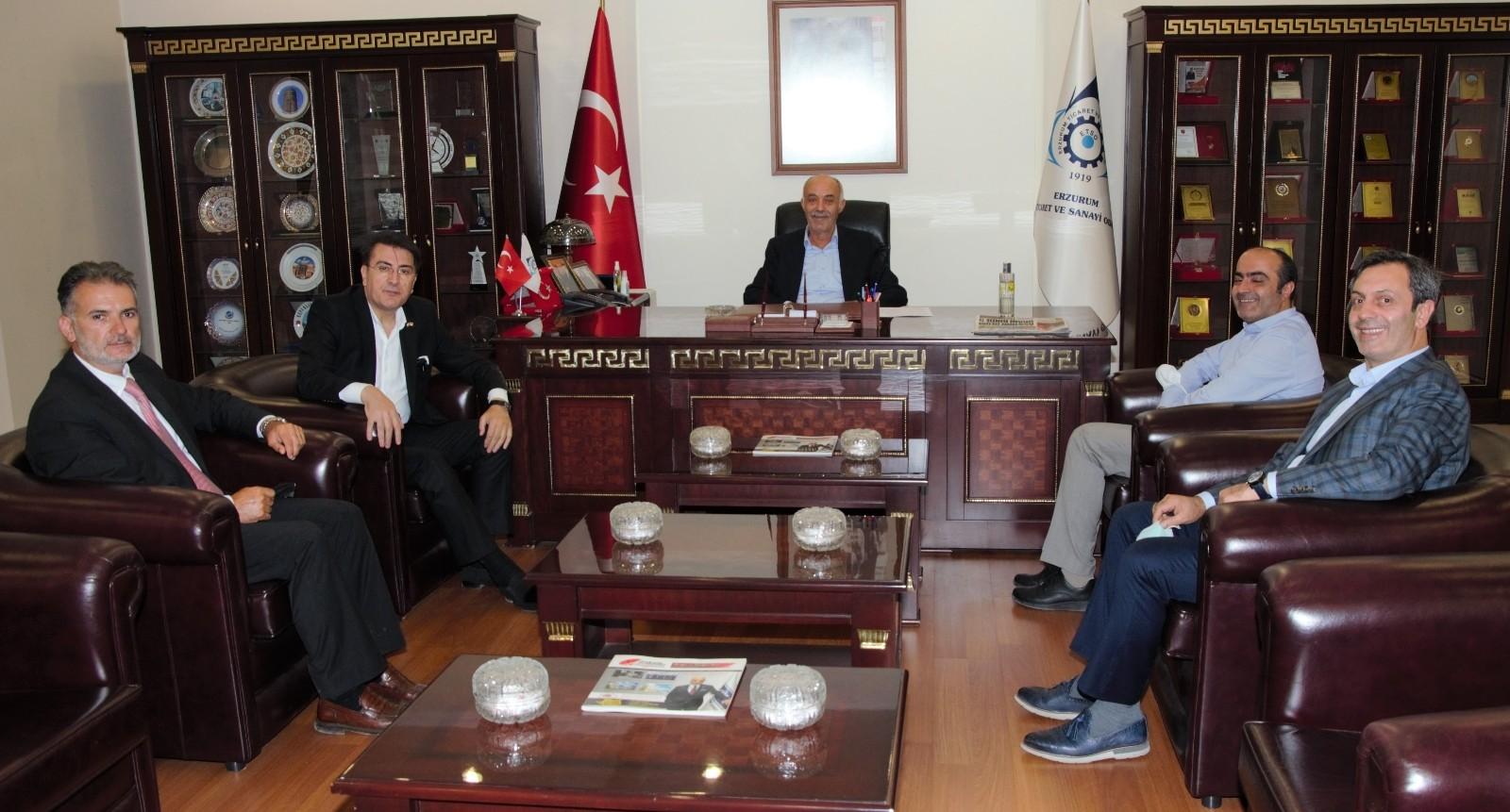 Milletvekili Aydemir'den Başkan Yücelik'e ziyaret