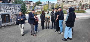 """TDED Erzurum Şube Başkanı Ertaş: """"Kerem ile Aslı Erzurum'un kültürel değeridir"""""""