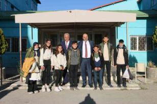 """Başkan Orhan'dan Aydemir'e """"Tarım ve Hayvancılık Lisesi"""" teşekkürü"""