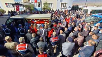 Erzurum şehidini uğurluyor