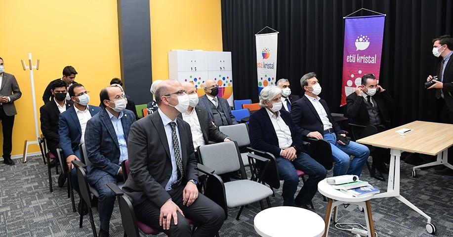 ETÜ'nün inovasyon merkezleri misafirlerini ağırladı
