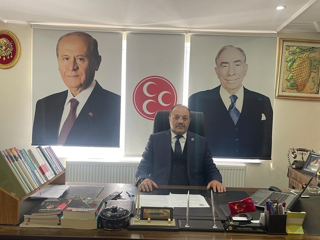 İl Başkanı Karataş'tan Mevlit Kandili mesajı