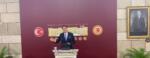 Milletvekili Aydemir TFF Başkanı Özdemir'le görüştü